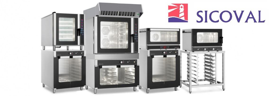 Hornos Eléctricos o GAS para panadería, pastelería y hostelería